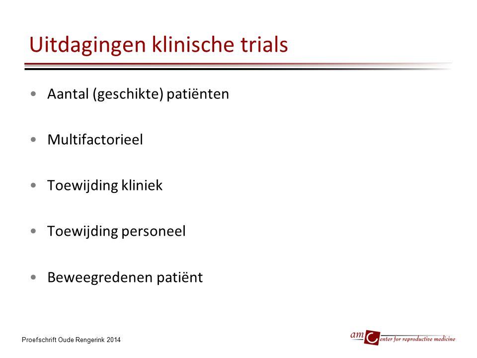 Uitdagingen klinische trials