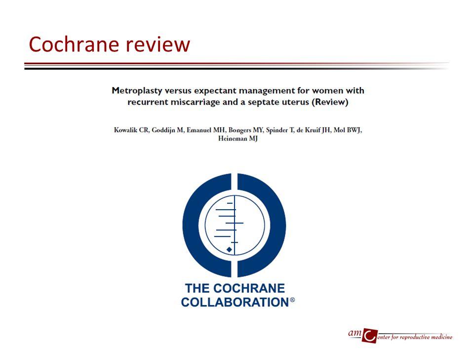 Cochrane review