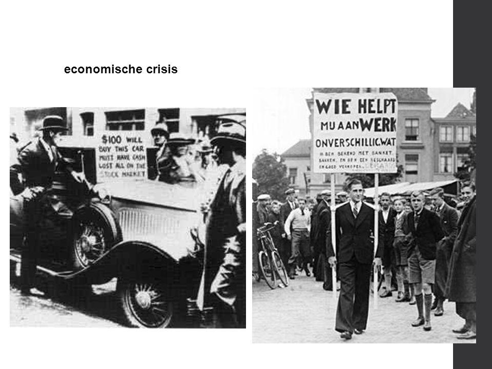 economische crisis