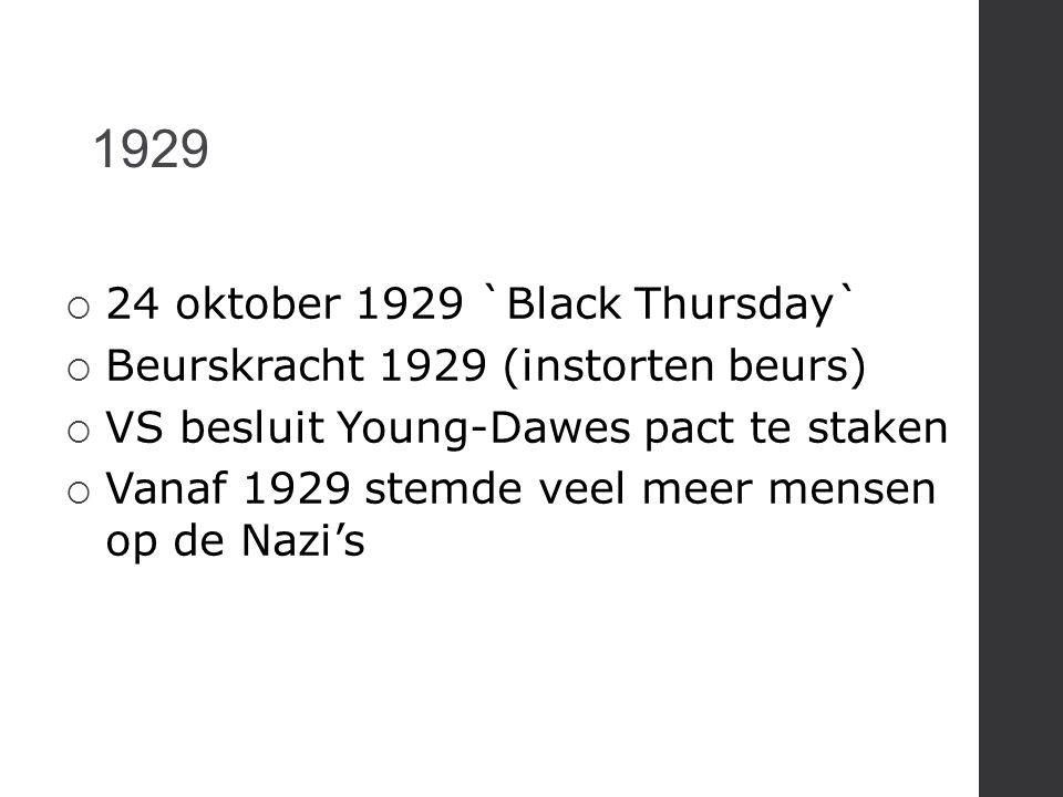 1929 24 oktober 1929 `Black Thursday`