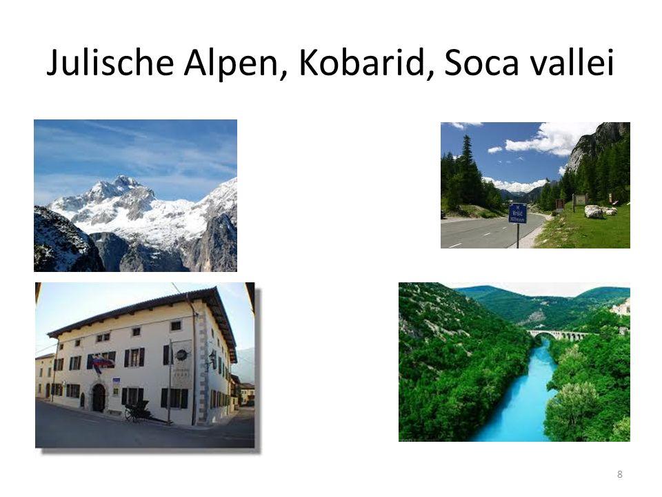 Julische Alpen, Kobarid, Soca vallei