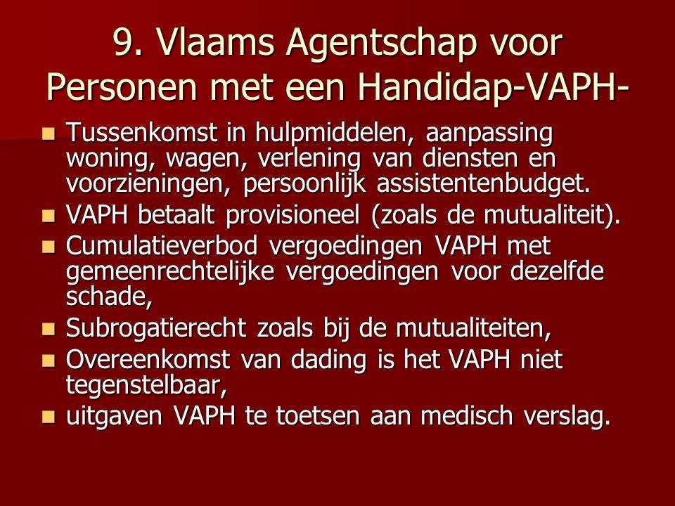 9. Vlaams Agentschap voor Personen met een Handidap-VAPH-
