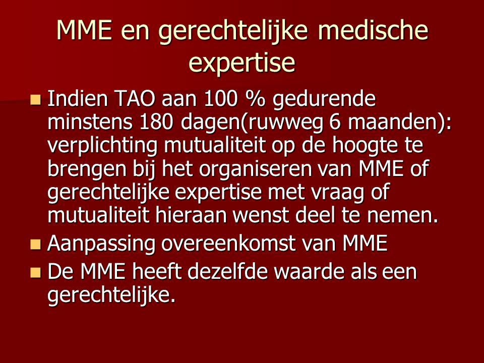 MME en gerechtelijke medische expertise
