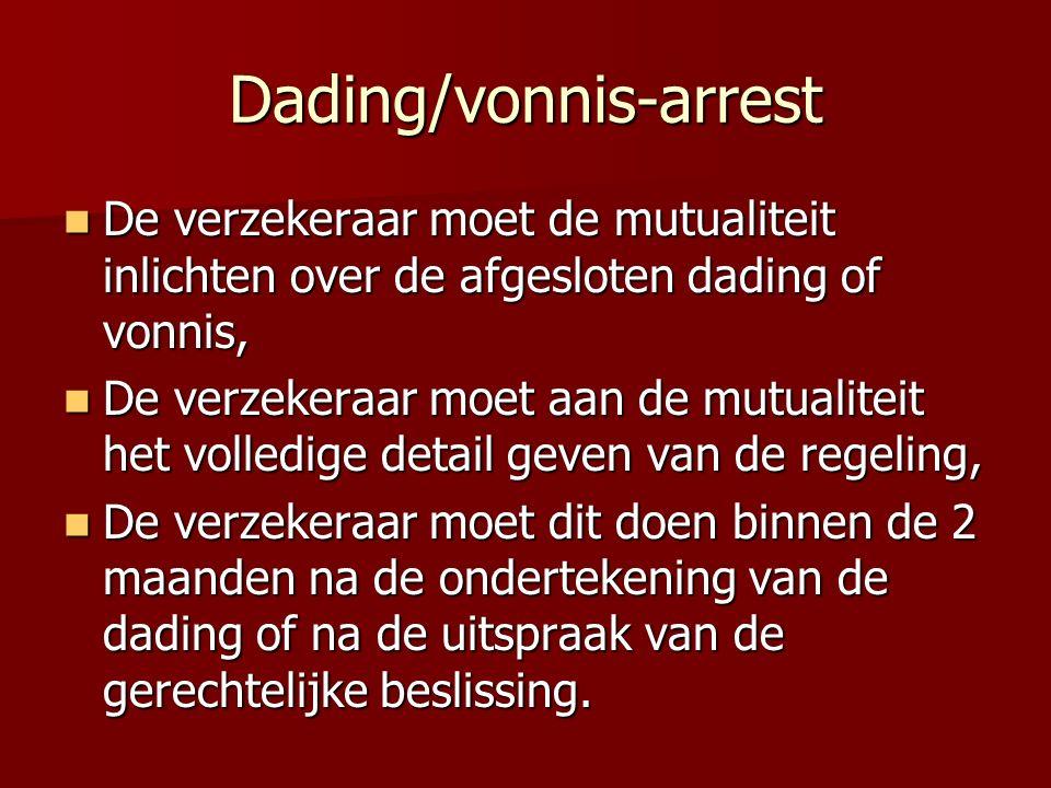 Dading/vonnis-arrest