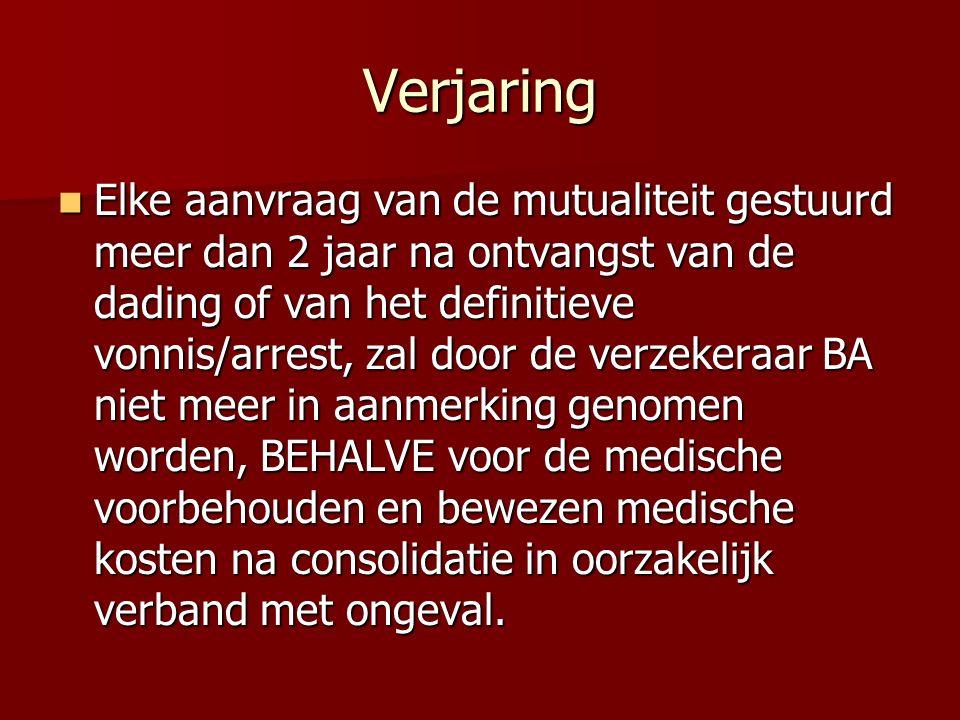 Verjaring