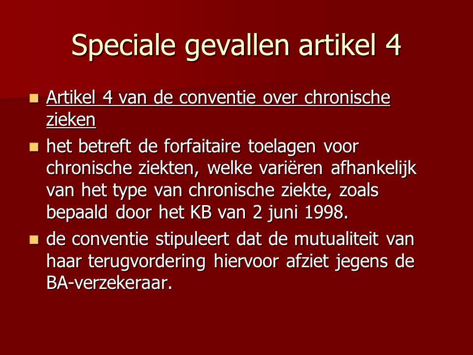 Speciale gevallen artikel 4