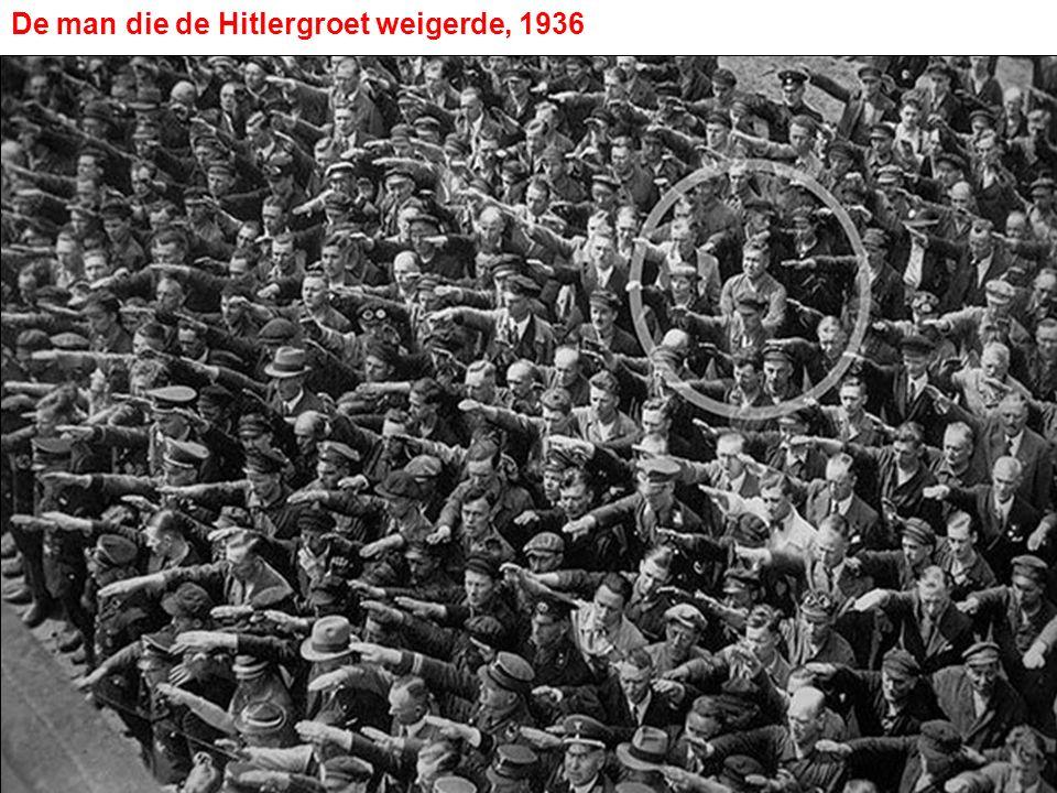 De man die de Hitlergroet weigerde, 1936