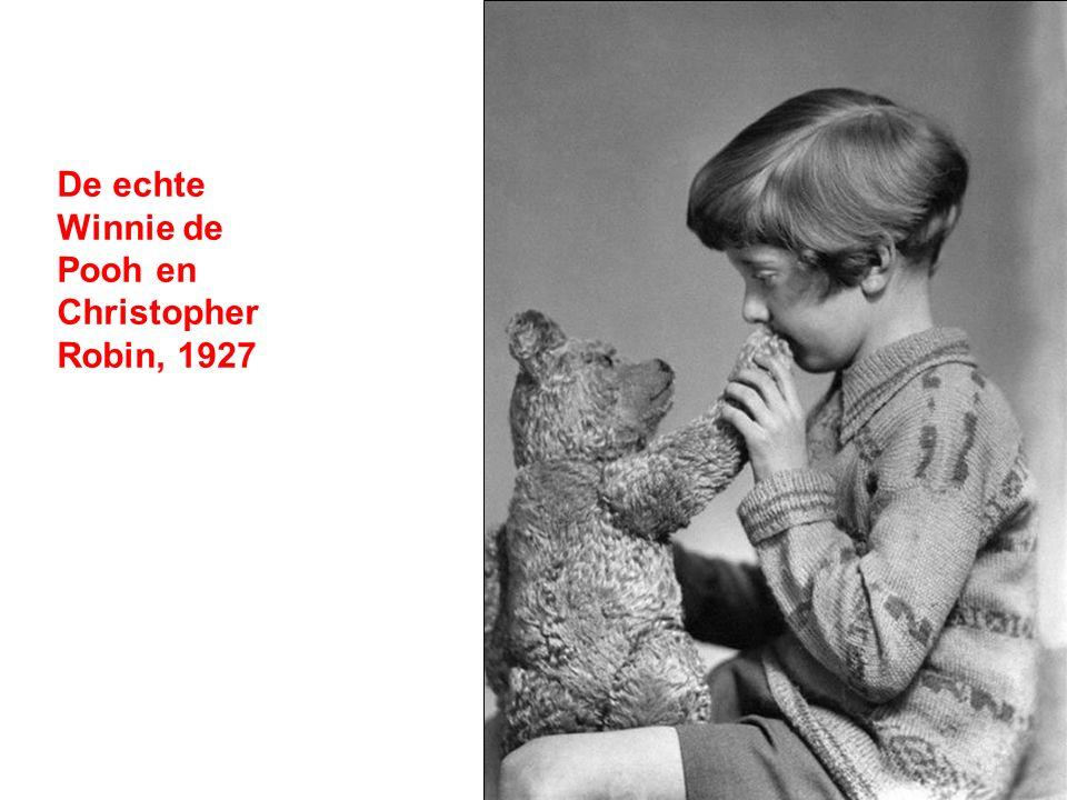 De echte Winnie de Pooh en Christopher Robin, 1927