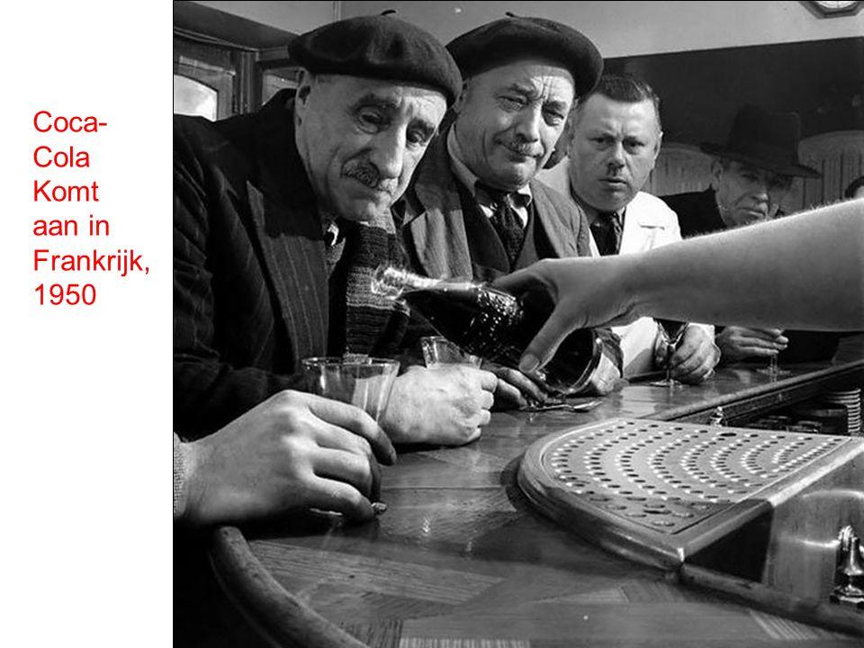Coca-Cola Komt aan in Frankrijk, 1950