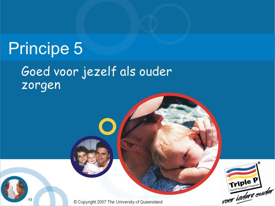 Principe 5 Goed voor jezelf als ouder zorgen