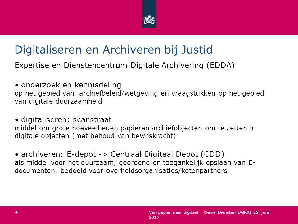 Digitaliseren en Archiveren bij Justid