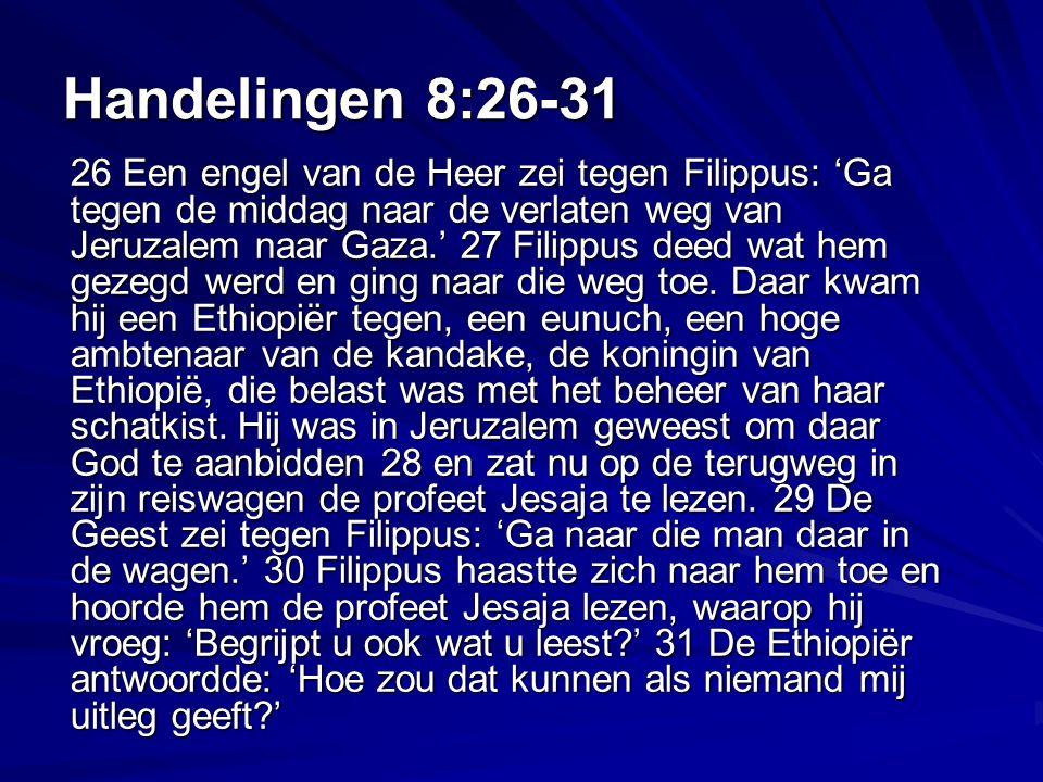 Handelingen 8:26-31