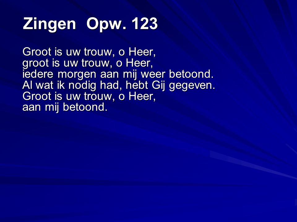 Zingen Opw. 123