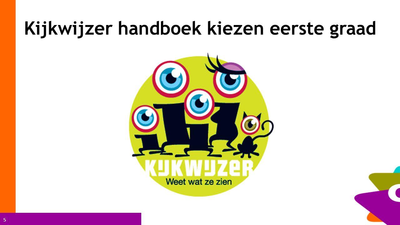Kijkwijzer handboek kiezen eerste graad