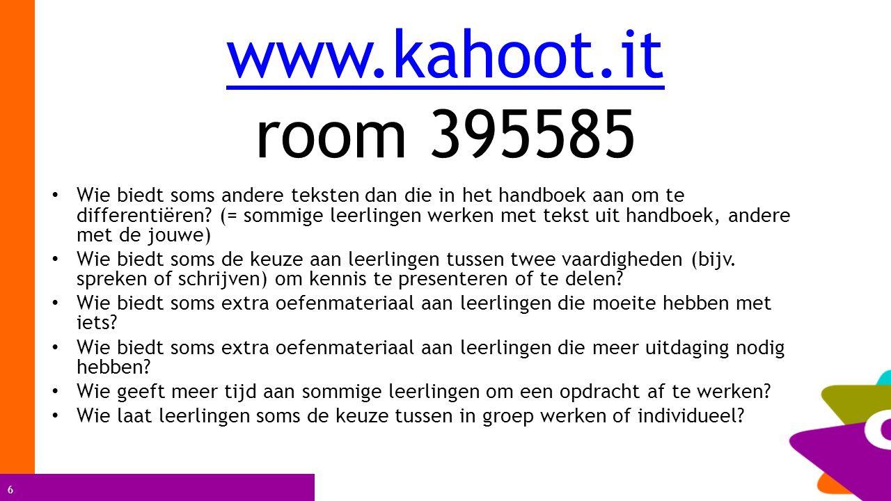 www.kahoot.it room 395585
