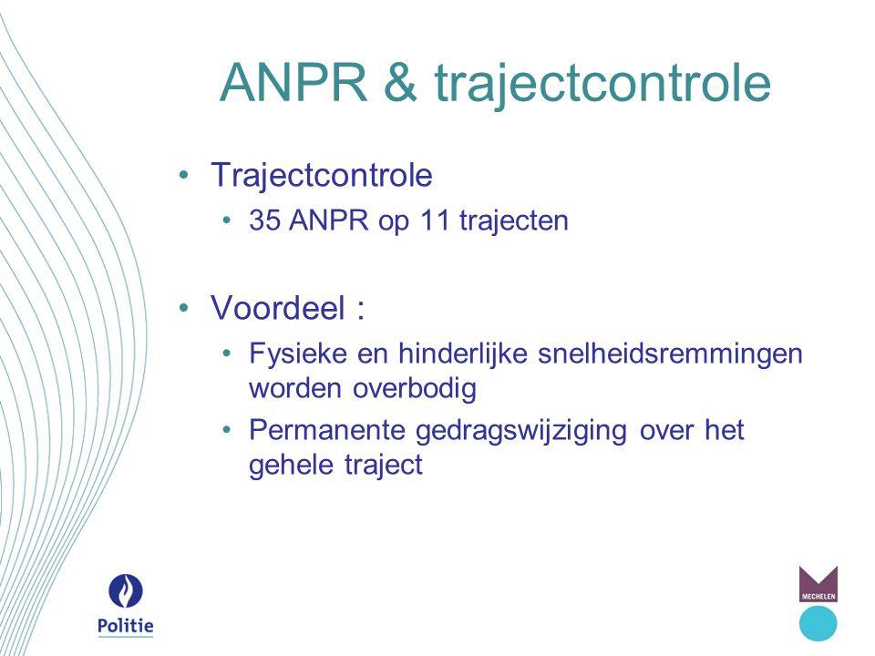 ANPR & trajectcontrole