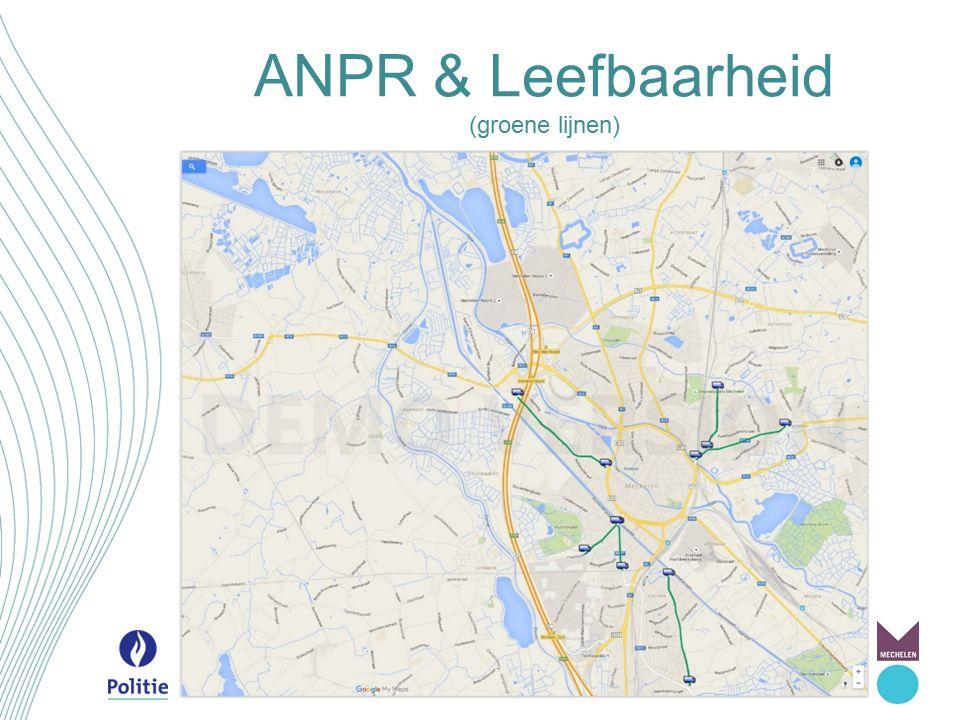 ANPR & Leefbaarheid (groene lijnen)