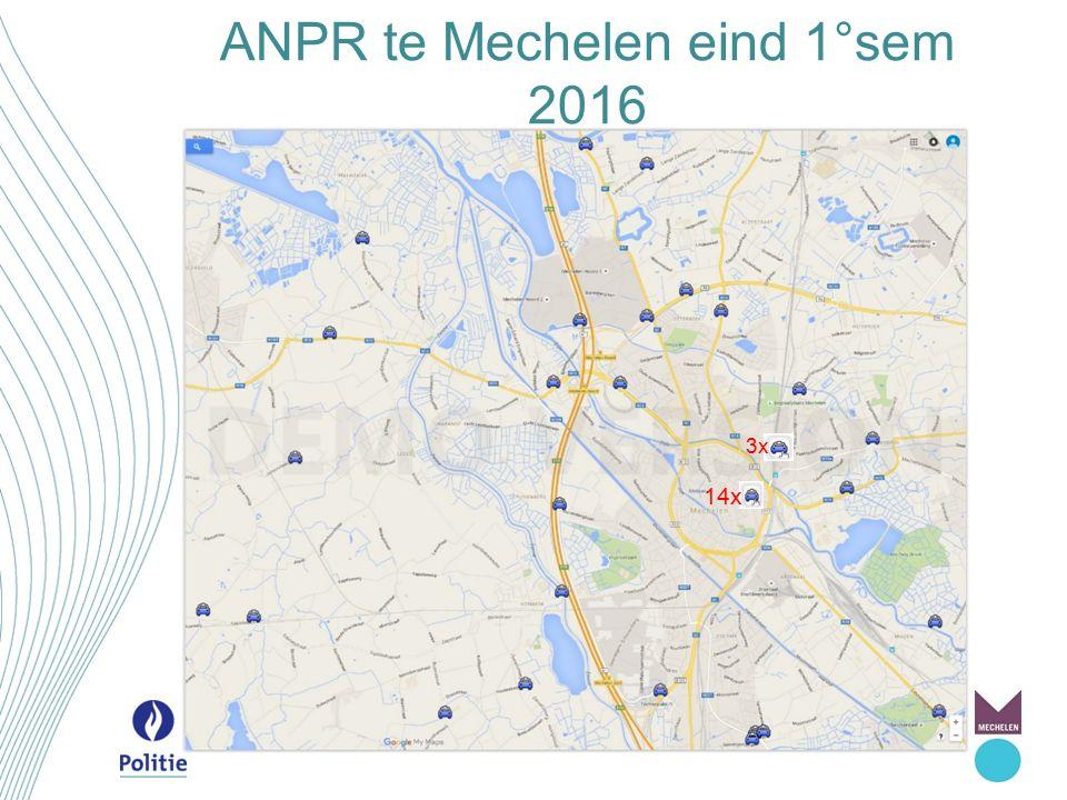 ANPR te Mechelen eind 1°sem 2016