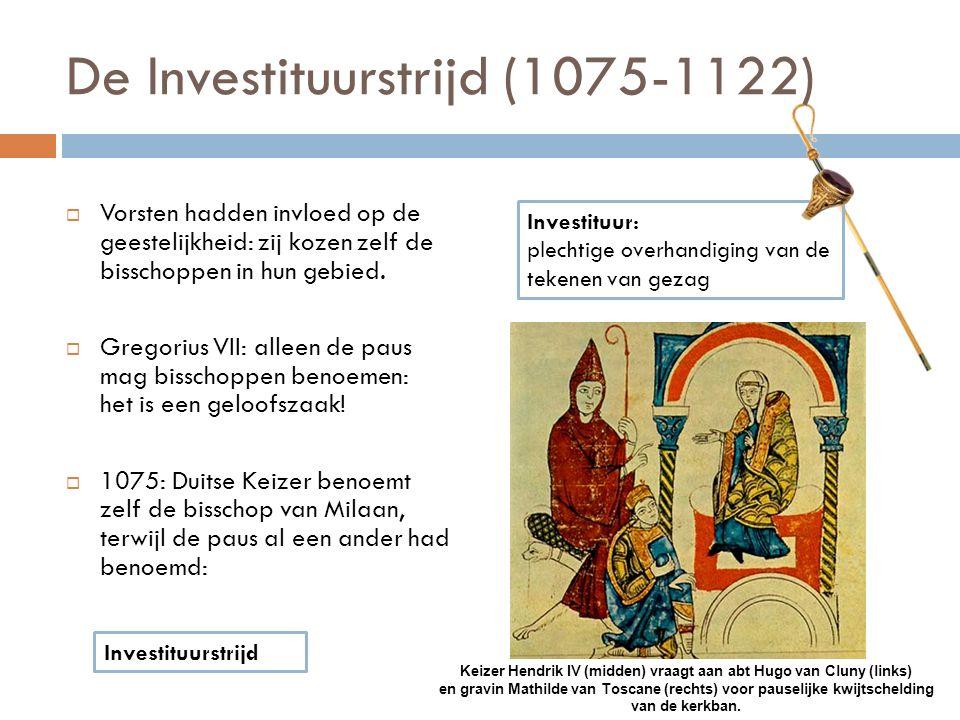 De Investituurstrijd (1075-1122)