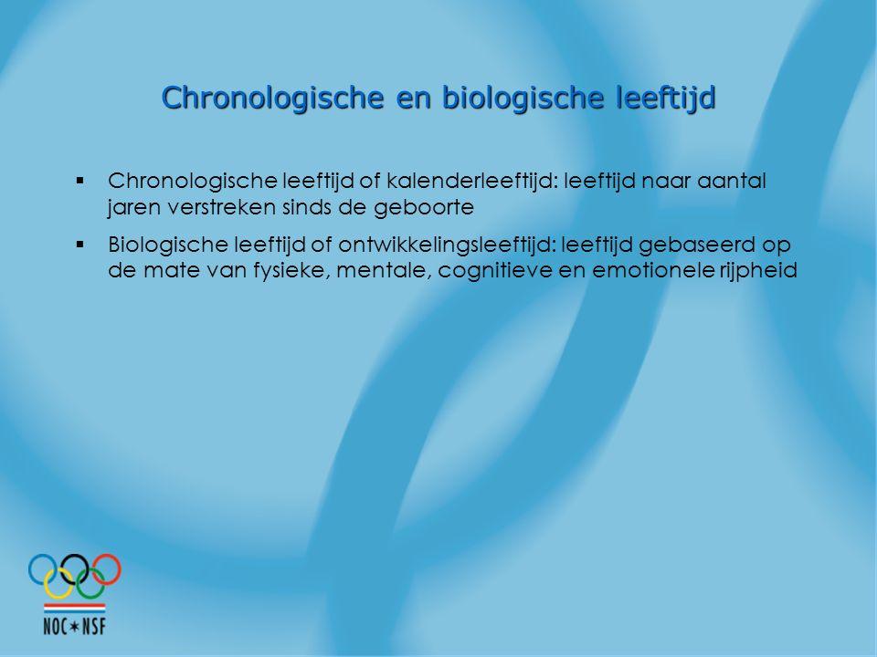 Chronologische en biologische leeftijd