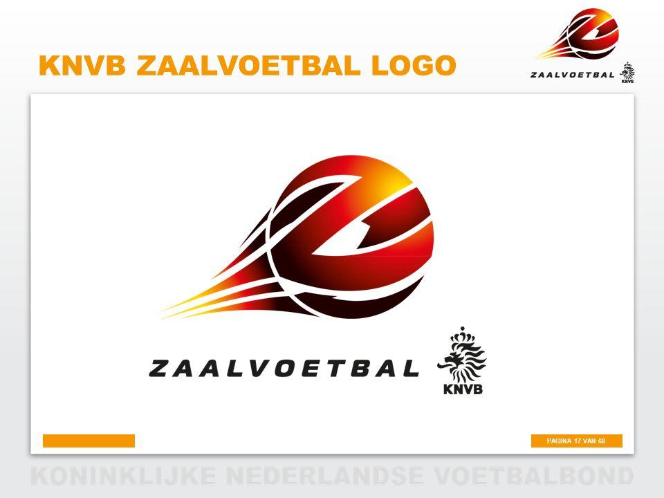 KNVB Zaalvoetbal logo