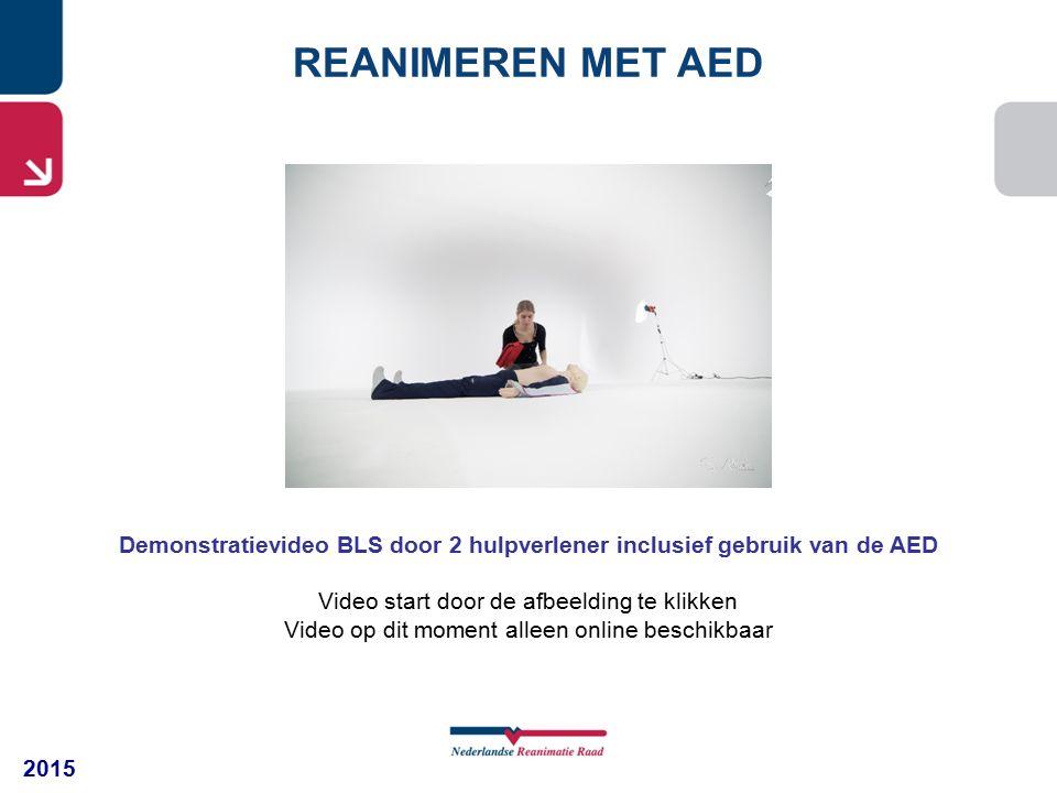 Demonstratievideo BLS door 2 hulpverlener inclusief gebruik van de AED