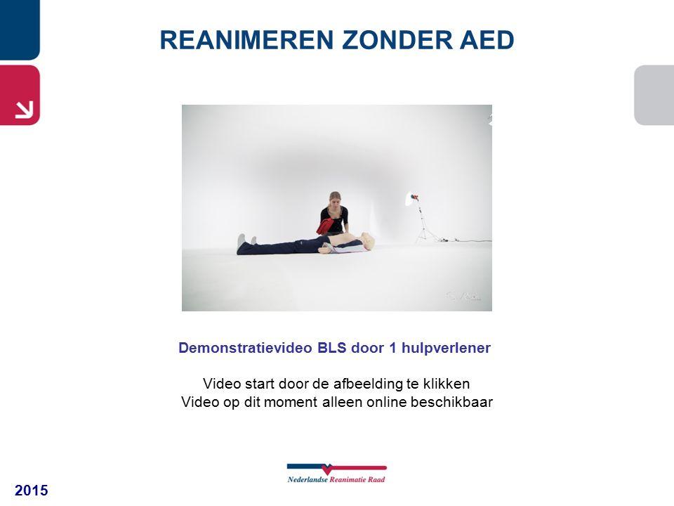 Demonstratievideo BLS door 1 hulpverlener