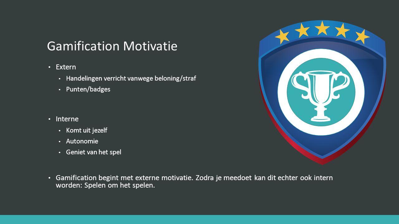 Gamification Motivatie