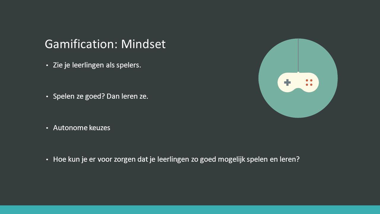 Gamification: Mindset