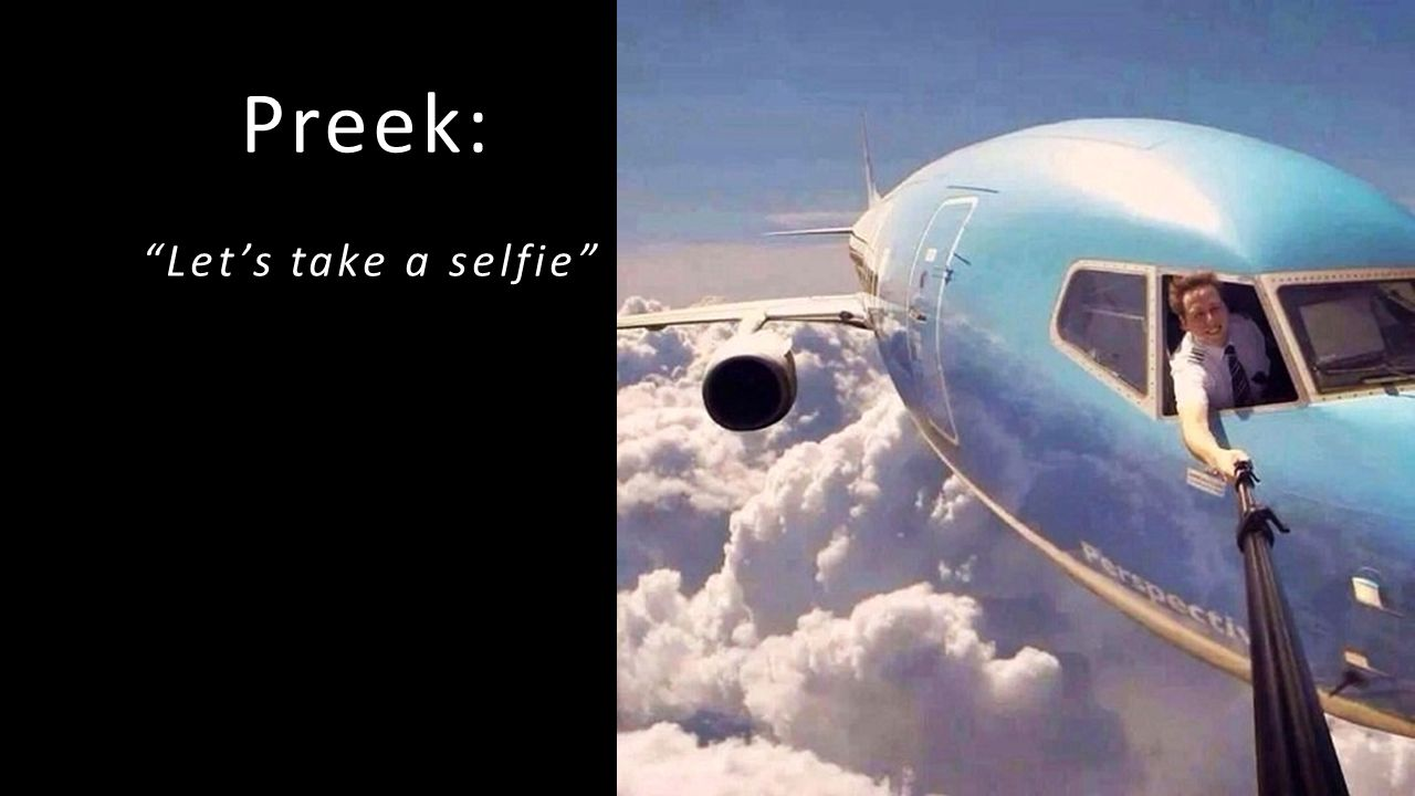 Preek: Let's take a selfie