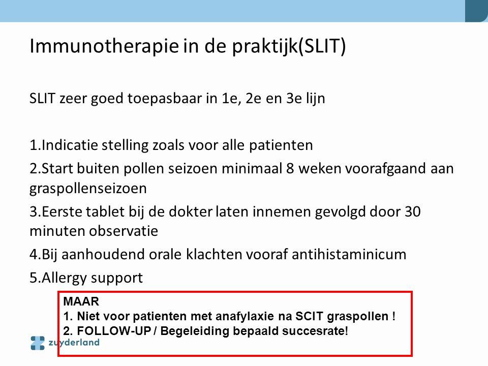 Immunotherapie in de praktijk (SLIT)