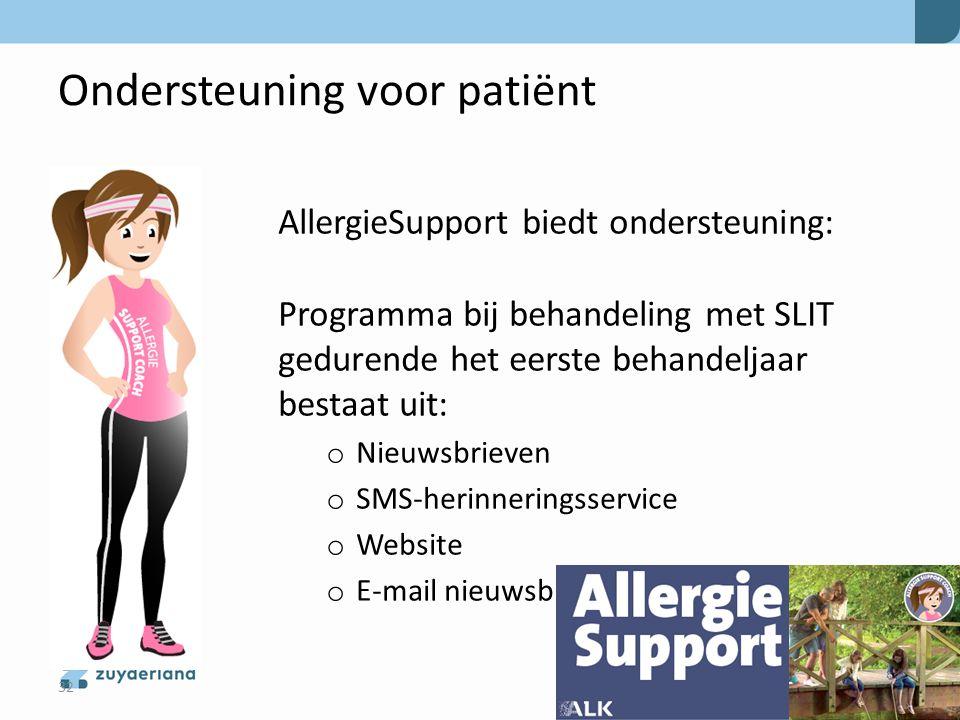 Ondersteuning voor patiënt