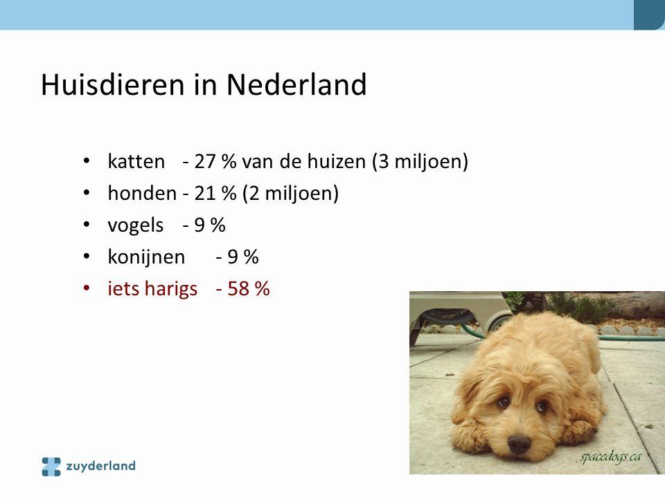 Huisdieren in Nederland