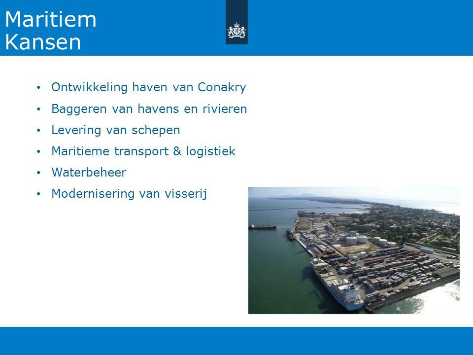 Maritiem Kansen Ontwikkeling haven van Conakry