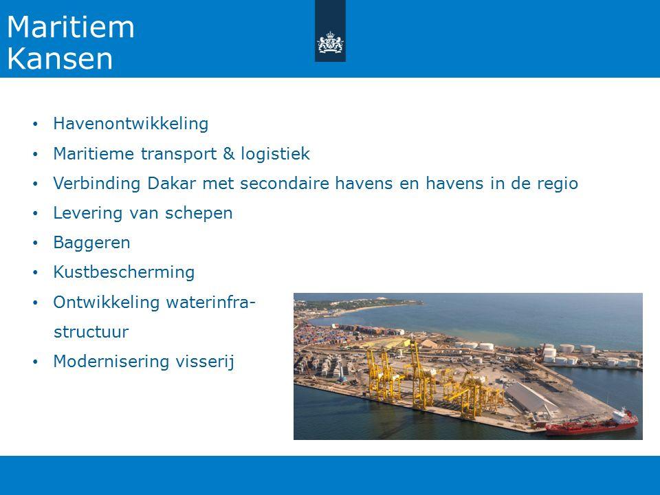 Maritiem Kansen Havenontwikkeling Maritieme transport & logistiek