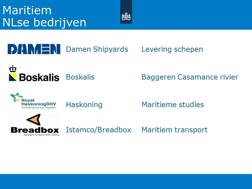 Maritiem NLse bedrijven Damen Shipyards Levering schepen