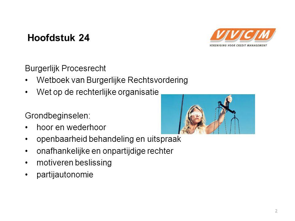Hoofdstuk 24 Burgerlijk Procesrecht