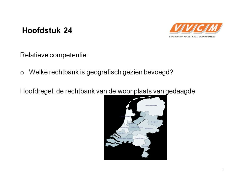 Hoofdstuk 24 Relatieve competentie: