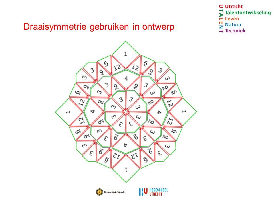 Draaisymmetrie gebruiken in ontwerp