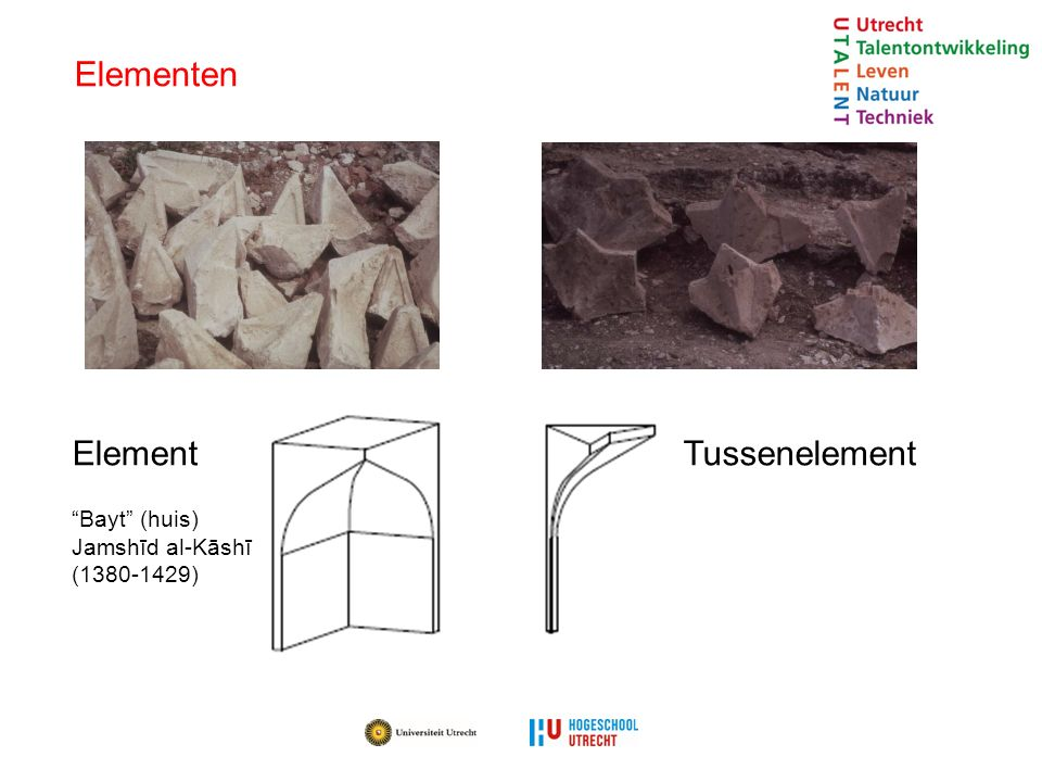 Elementen Element Tussenelement Bayt (huis) Jamshīd al-Kāshī