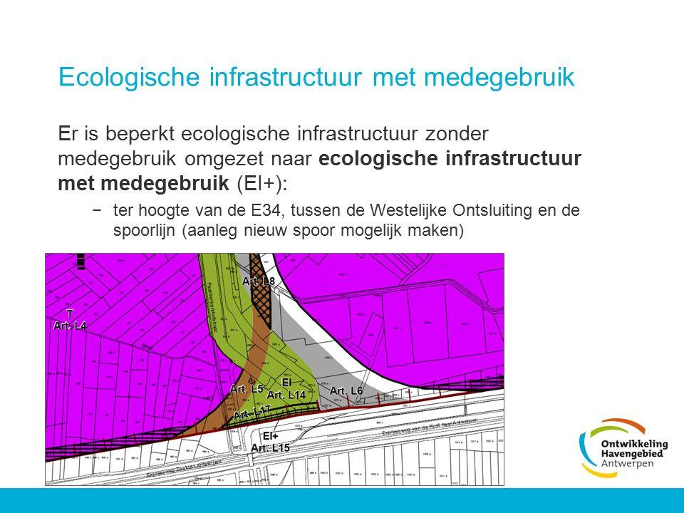 Ecologische infrastructuur met medegebruik
