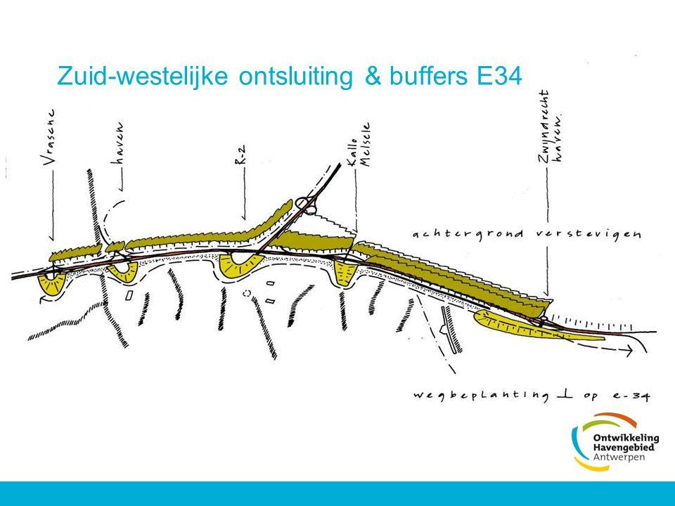 Zuid-westelijke ontsluiting & buffers E34