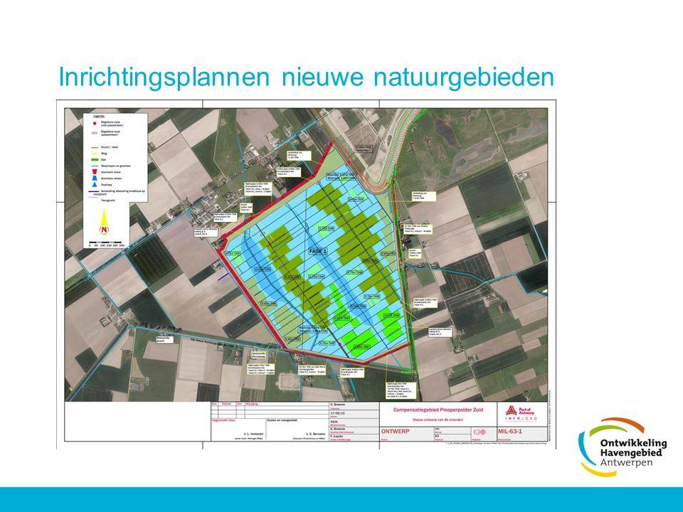 Inrichtingsplannen nieuwe natuurgebieden