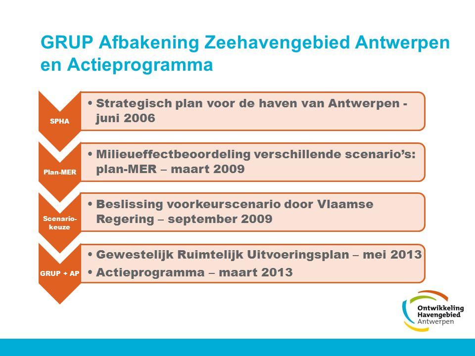 GRUP Afbakening Zeehavengebied Antwerpen en Actieprogramma