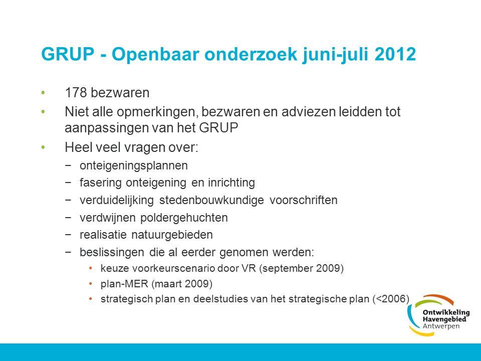 GRUP - Openbaar onderzoek juni-juli 2012