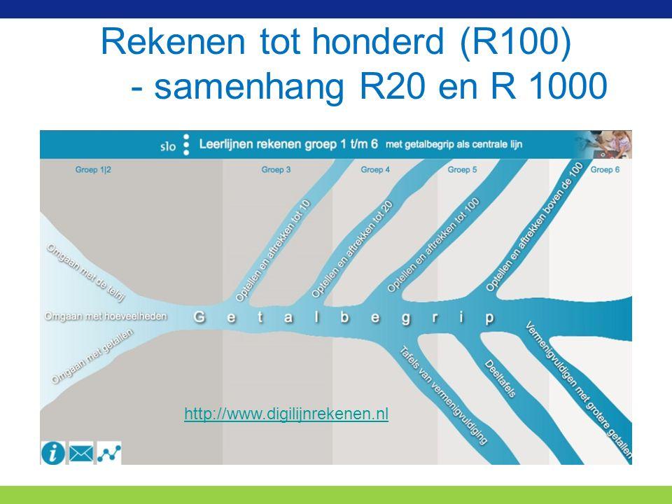 Rekenen tot honderd (R100) - samenhang R20 en R 1000