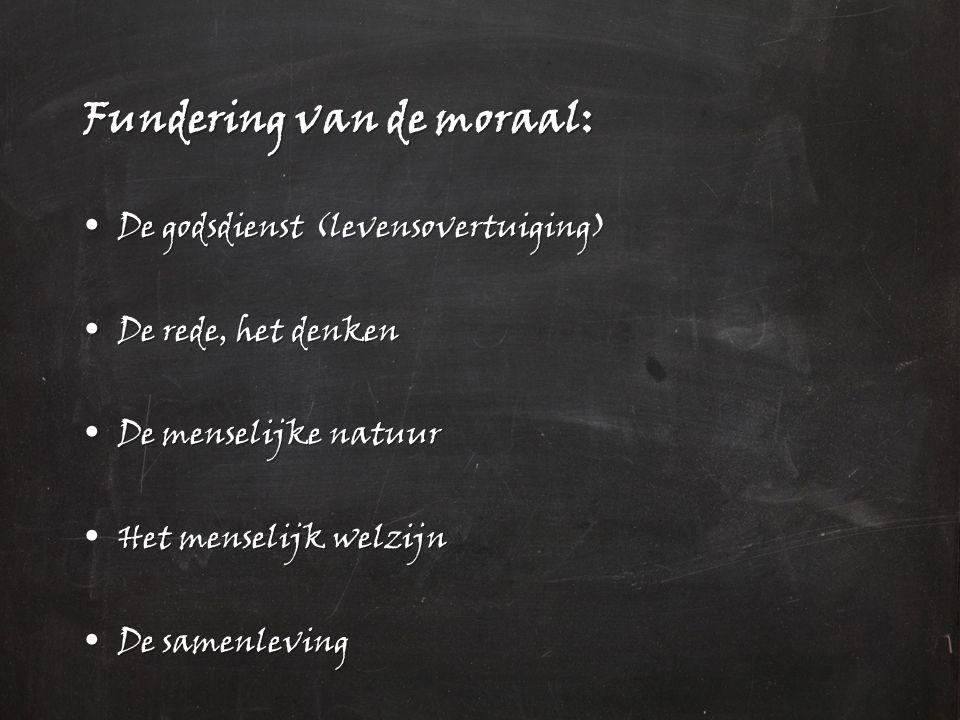 Fundering van de moraal: