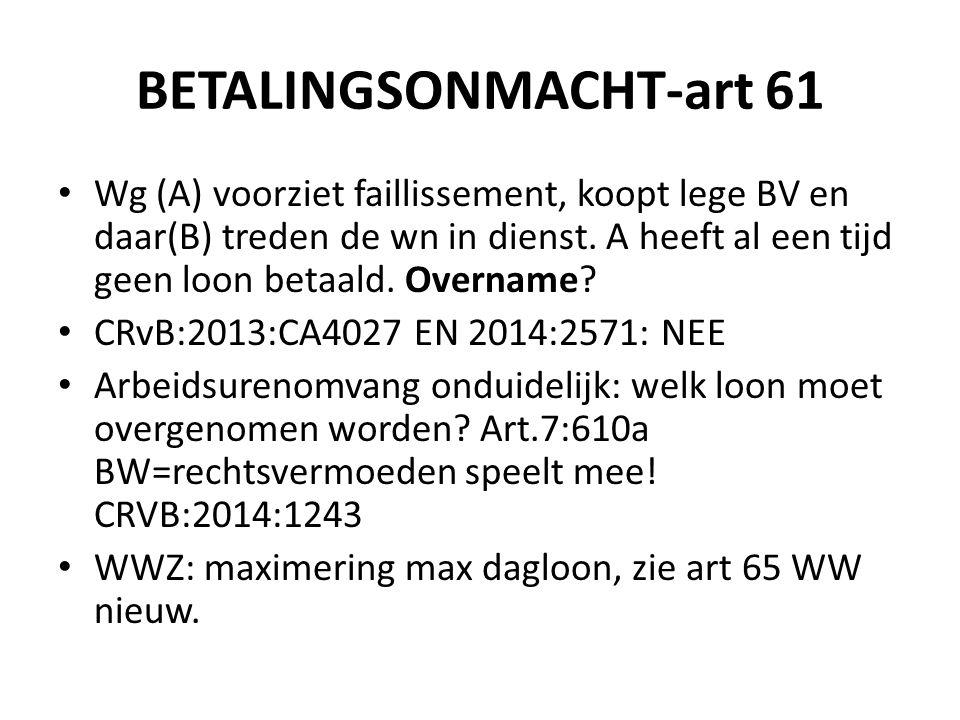 BETALINGSONMACHT-art 61