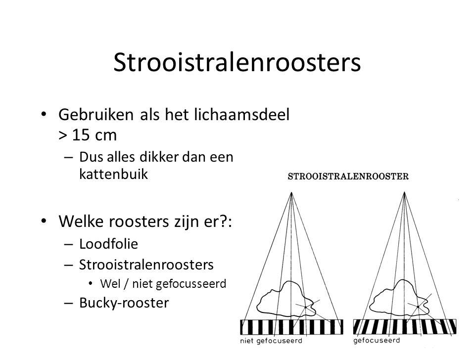 Strooistralenroosters
