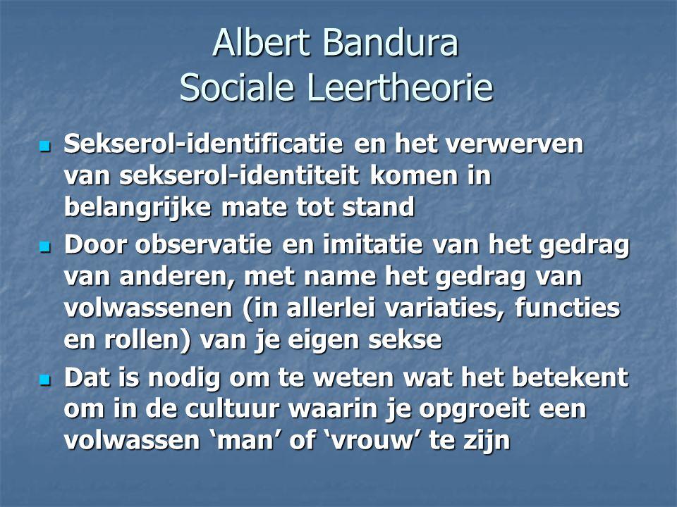 Albert Bandura Sociale Leertheorie